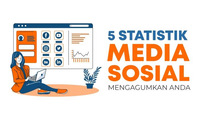 statistik media sosial