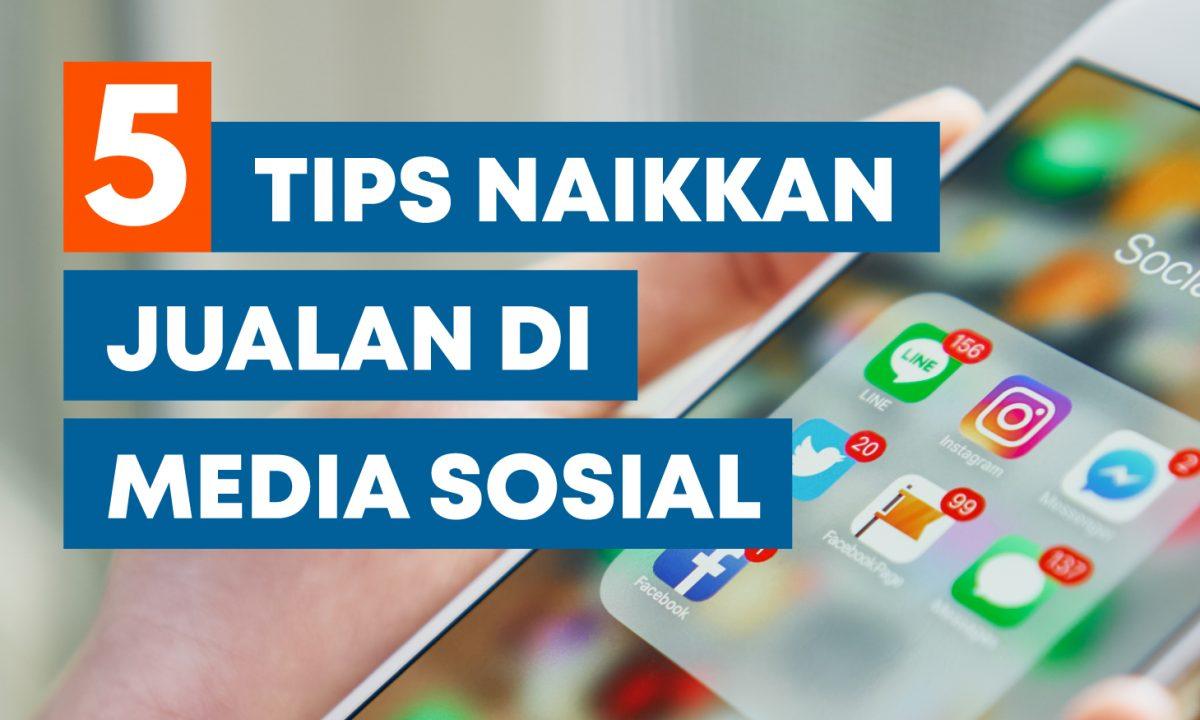 menaikkan jualan media sosial